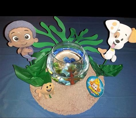 154 Best Images About Bubble Guppies Party Ideas On Guppies Centerpiece Ideas