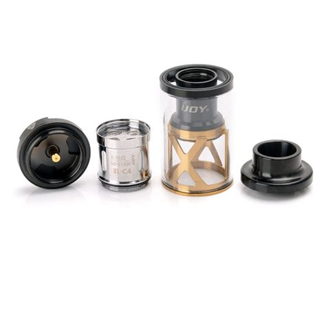 authentic ijoy limitless xl sub ohm rta 4ml 25mm black