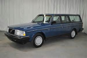 1990 Volvo 240 Wagon Purchase Used 1990 Volvo 240 Wagon No Reserve In