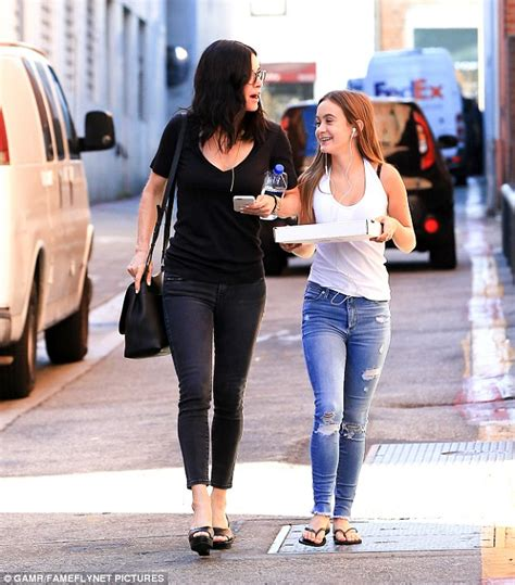 Co Co Cox by Courteney Cox And Coco Grab Pizza In Beverly