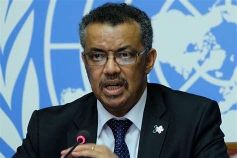 tedros adhanom ghebreyesus 世界卫生组织候任总干事阿达诺姆畅谈愿景 愿世界所有人都能过上健康生活 8 43 联合国电台
