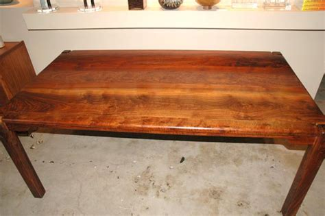 Cocobolo Table by Cocobolo Wood Parsons Style Table By Bruce Mcquilkin At