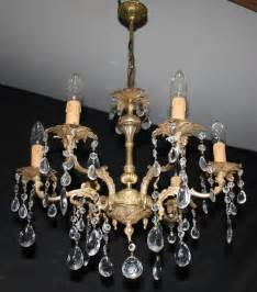 Chandelier Style Ceiling Lights Vintage Chandelier Antique Style Brass Ceiling