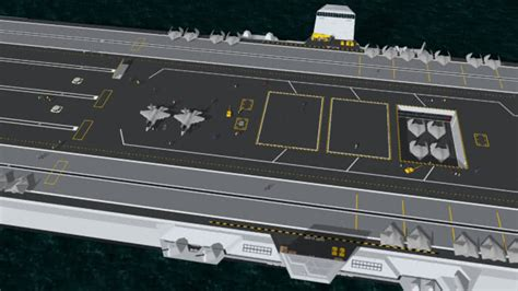 trimaran aircraft carrier trimaran aircraft carrier with aircraft crew 3d warehouse