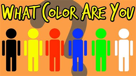 what color am i quiz what color are you personality test mister test