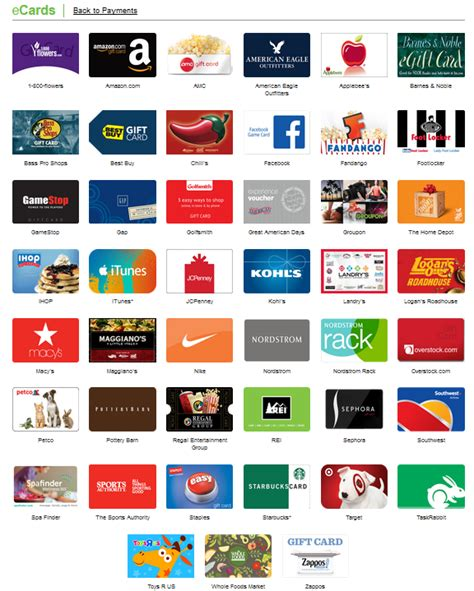 Gift Card Storage - merchants list ecards store gift cards sendearnings 174