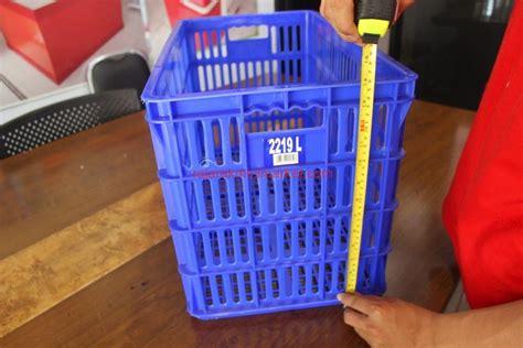 Jual Keranjang Plastik Dorong jual keranjang kontainer plastik piring tipe 2219 l