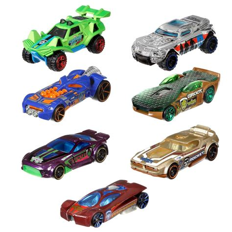 Hotwheels Guardians Of The Galaxy Vol 2 model guardians of the galaxy vol 2 car scale 1 64 mattel wheels die cast you choose marvel