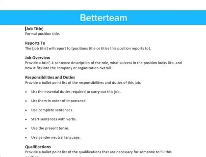 label design job description it job description template beautiful template design ideas
