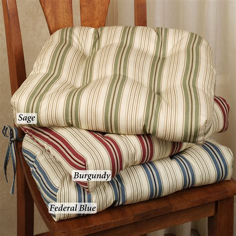 How To Make Kitchen Chair Pads by Kitchen Chair Cushions With Ties Homesfeed