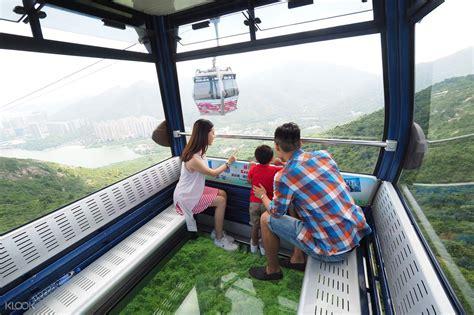 Hong Kong Et Ticket Ngong Ping 360 Single Trip Hongkong Tiket Dewasa ngong ping 360 discount cable car tickets for cabin klook