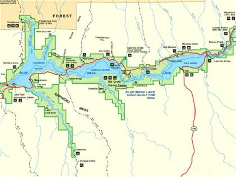 mesa county colorado map blue mesa maps curriculum and itinerary