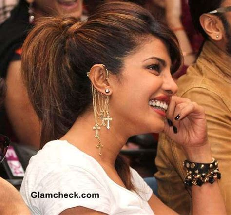 priyanka chopra in gunday bollywood shows you how to wear earrings for the next