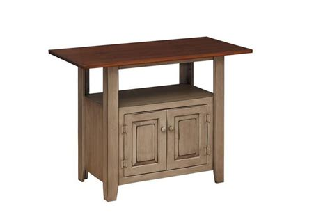 amish kitchen furniture amish pine 48 quot kitchen island pine wood kitchen island