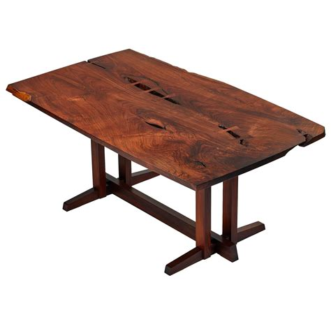 Single Table by George Nakashima Masterwork Quot Single Board Quot Solid Rosewood