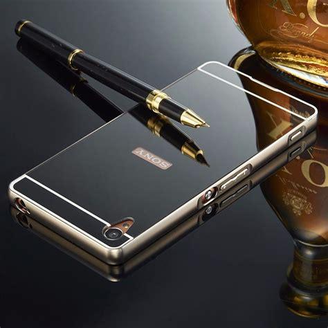 Mirror Xperia Z3 Plus Z4 capa bumper espelhada celular sony xperia z3 plus z4 p