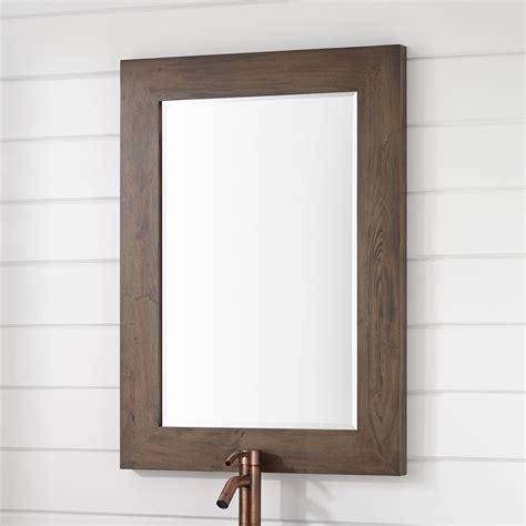 mahogany bathroom mirror mahogany vanity mirror signature hardware