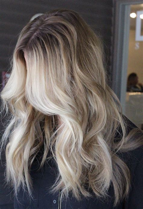 blonde hair dark root ictures dark roots and blonde loose curls beautiful blonde