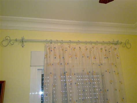 barras de forja para cortinas