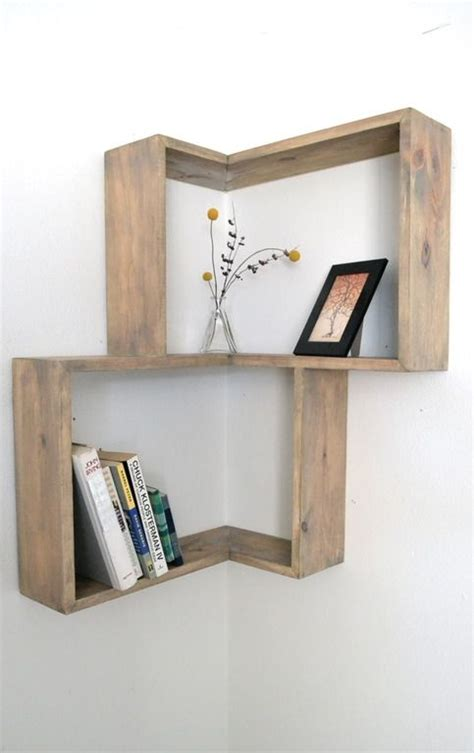 best 25 corner wall shelves ideas on