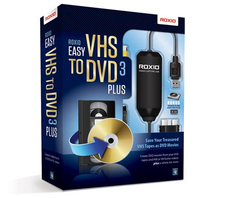 Or Vhs Roxio Easy Vhs To Dvd