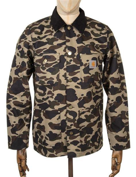 Jaket Casual Jaket Fashion Pria Cz 551 carhartt michigan chore coat camo duck mens fashion casual wear coats