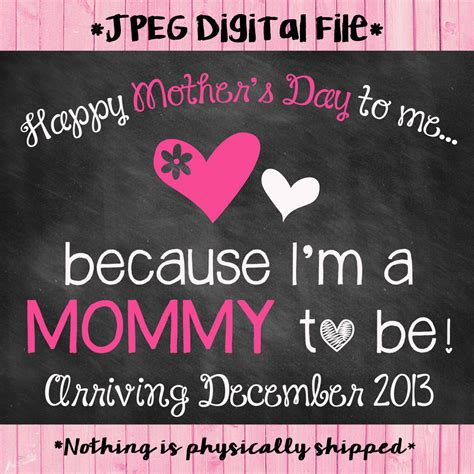 mothers day pregnancy announcement s day pregnancy announcement chalkboard pregnancy