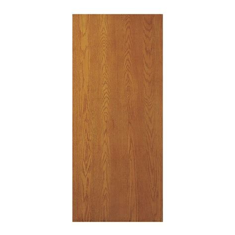 jeld wen woodgrain flush unfinished red oak single prehung oak interior doors home depot 28 images jeld wen 28