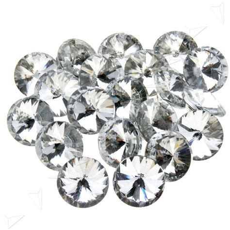 upholstery buttons for tufting 20 pcs 2 5cm crystal diamante round upholstery buttons