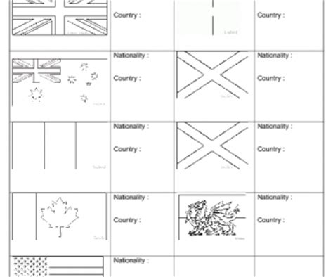 speaking countries flags coloring pages speaking countries