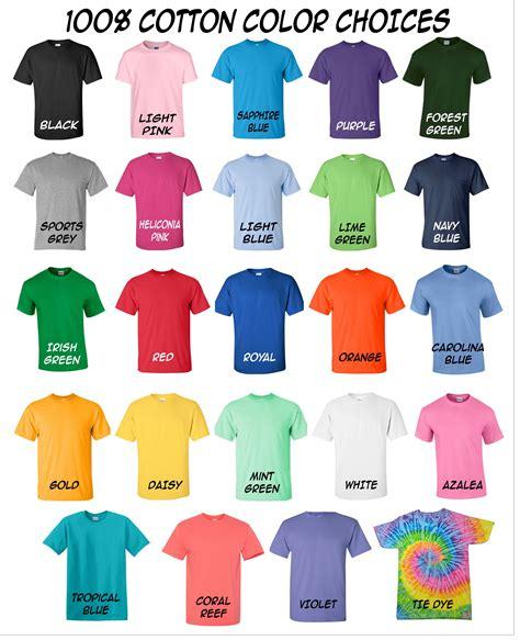 color shirt shirt colors