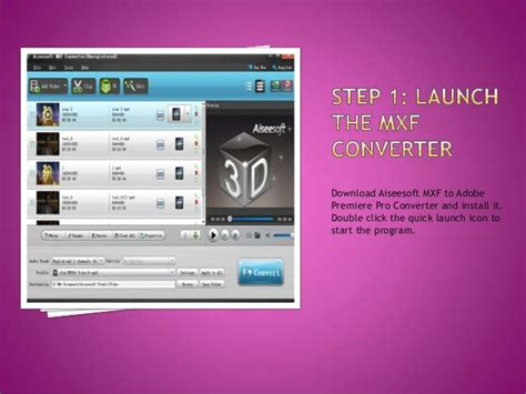 adobe premiere pro quick start convert mxf to adobe premiere pro mpeg 2