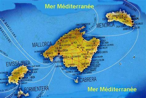 0004488962 carte touristique ibiza and infos sur islas baleares formentera carte arts et voyages
