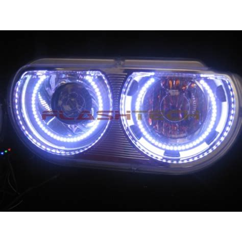 headlight color changer dodge challenger projector v 3 fusion color change led