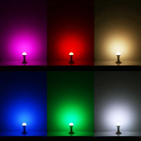led light bulb color how colour changing led light bulb works lighting