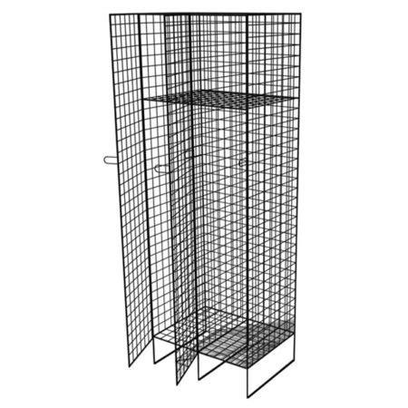 wire lockers  shelf shelving racking