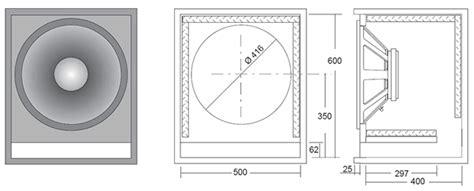 bass cabinet design ciare 18 00 sw 1 18 1000 watt 8ohm sub woofer