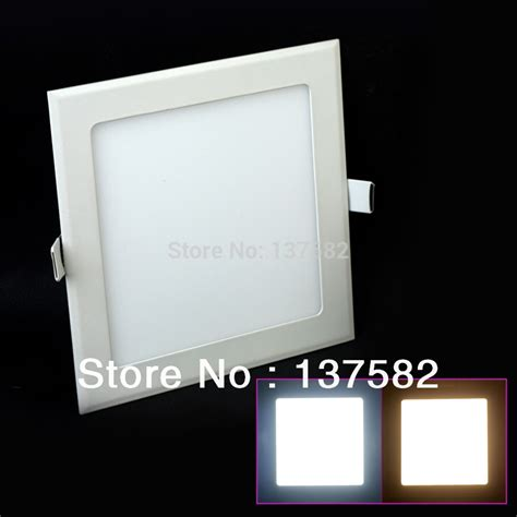led ceiling panel lights aliexpress com buy recessed led ceiling light 3 25w warm