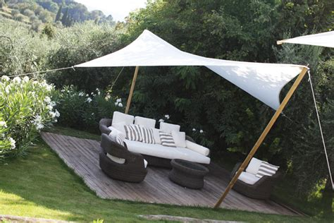 backyard sail shade shade sails shape the outdoors with their architectural