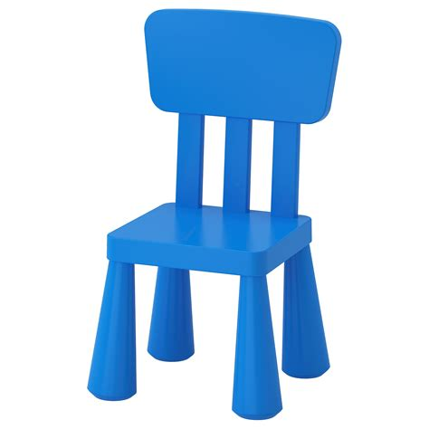 childrens stools and chairs mammut children s chair in outdoor blue ikea