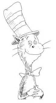 cat in the hat coloring page cat in the hat printable coloring pages
