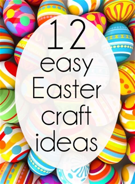 Decorate Your Home On A Budget 12 easy easter crafts