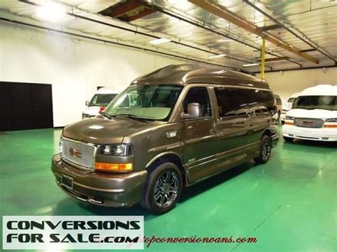 2014 gmc savana 9 passenger amura presidential conversion
