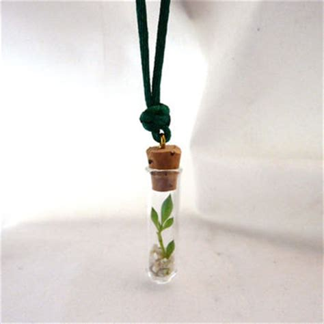 best live plant necklace products on wanelo