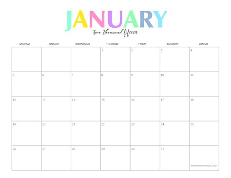 printable monthly calendars for 2014 and 2015 free printable january 2015 calendars