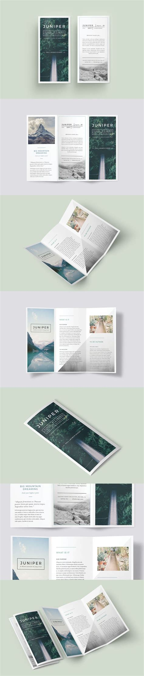 best templates for brochures 25 best ideas about brochure design on pinterest