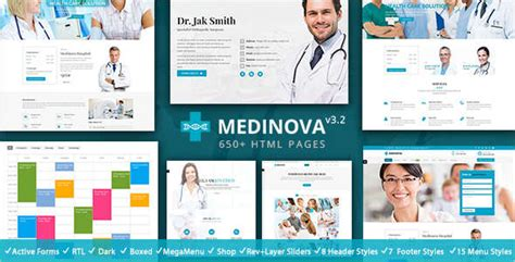 Bootstrap Templates For Medical Store | 15 health bootstrap templates free premium themes