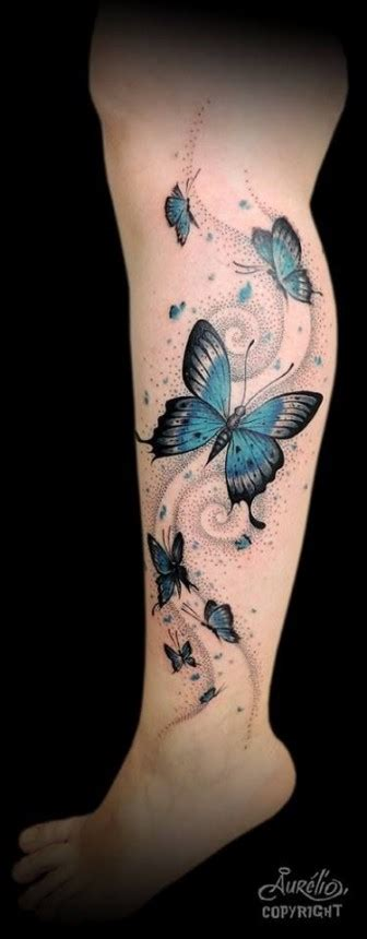 butterfly tattoos on leg tons of leg tattoos that are amazing tattoos beautiful