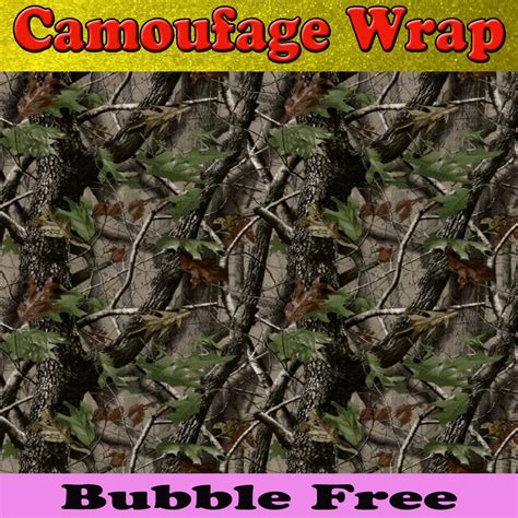 Stiker Camo Camouflage 309 matt realtree camo vinyl wrap car wrap with air release
