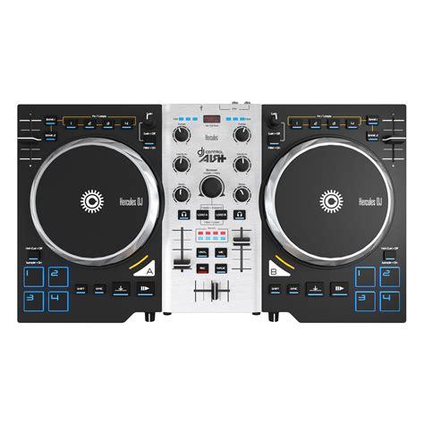 console hercules air hercules dj air s dj controller at gear4music